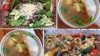 Обзор еды с ресторана