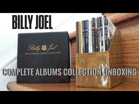 Billy Joel Complete Albums Collection Unboxing