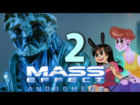 MASS EFFECT ANDROMEDA - 2 GIRLS 1 LET'S PLAY GAMEPLAY PC ULTRA 60 PFS PART 2: Habitat 7
