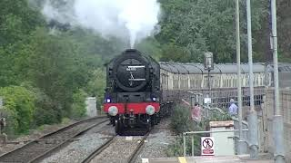 Royal Scot 46100 on the English Riviera Express Sat 6 June 2021