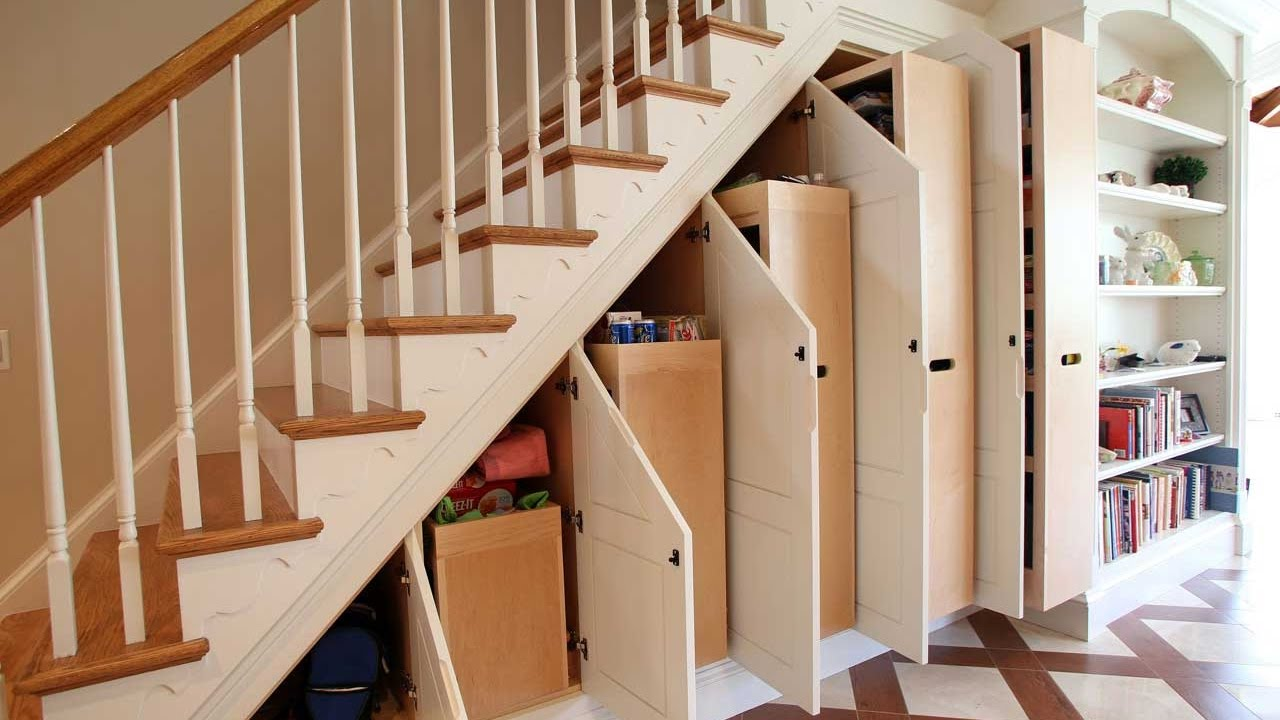 Hot 60 Ideas How To Use Small Space Under Stairs 2020 Creative   Creative Stairs For Small Spaces   Low Cost Simple   Beautiful   Tiny House   Modern   Unique