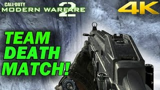 Call Of Duty: Modern Warfare 2 - Team Deathmatch Multiplayer Gameplay [4K 60FPS]