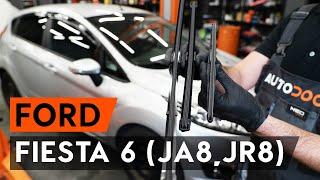 Ford Fiesta Mk5 tutoriály na opravu pro nadšence