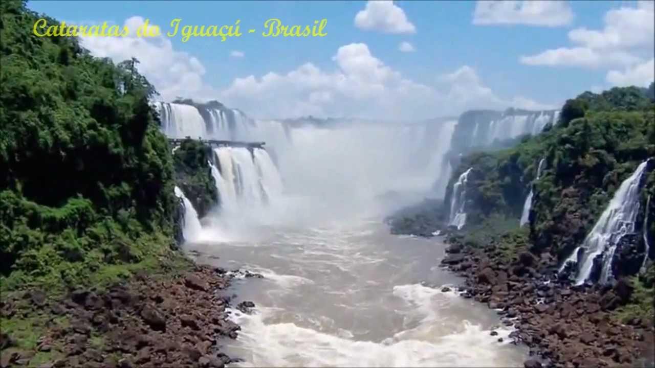 Iguazu Falls Wallpaper Guilherme Arantes Planeta Agua Full Hd Youtube