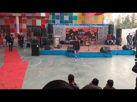 "//""Kashmiri Talent - Best Dance Performance in SSM College""\\"