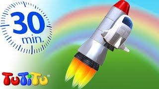 Игрушки для малышей | Космический корабль | 30 минут ТуТиТу Игрушки
