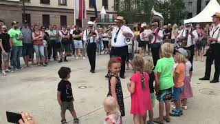 STB Dixie Train Marching Band am Landhausplatz Innsbruck 2019 NOF....Kinderprogramm