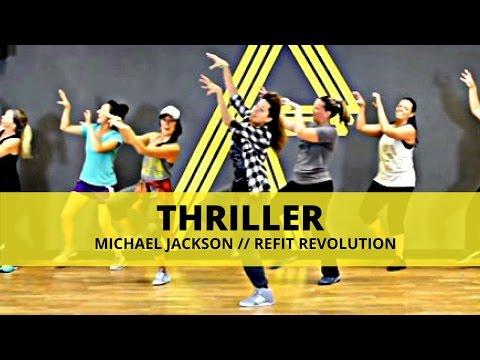 """Thriller"" || Michael Jackson || Dance Fitness || REFIT® Revolution"