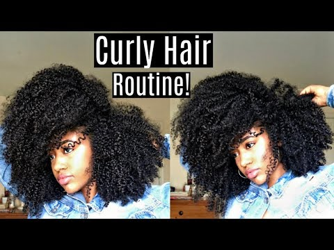 Volume AND Definition?!😱 (Highly Requested)| Routine for Natural Hair