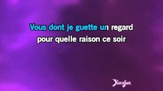 Karaoké Vous qui passez sans me voir - Jean Sablon *