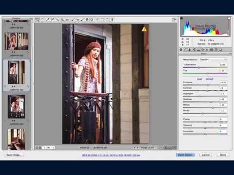 Synchronize Camera Raw Settings in Photoshop (Kỹ thuật xử lý ảnh đồng bộ...)- Thanh Phương