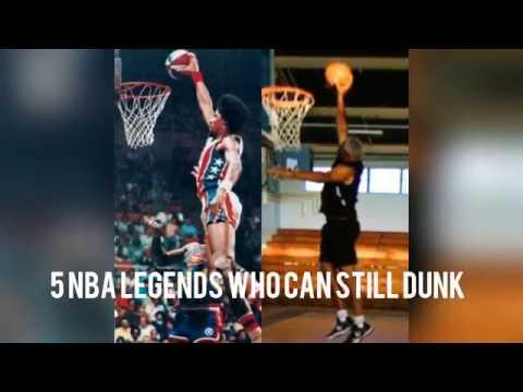 5 NBA Legends Who Can Still Dunk