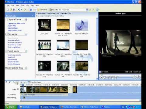 สอนใช้MovieMakerฉบับเร่งรีบ