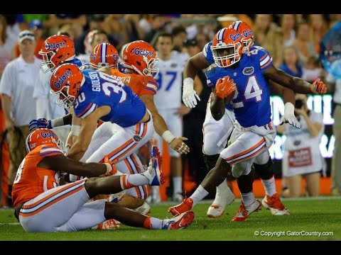 Interview with Florida Gators RB Mark Thompson