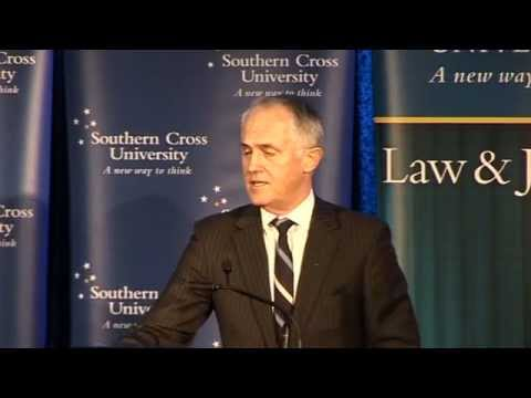 Malcolm Turnbull - 6th Annual Michael Kirby Lecture