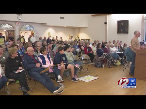 Sparks fly as Narragansett Town Council discusses cuts to library funding