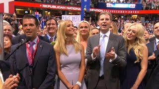 Donald Trump officially nominated for president