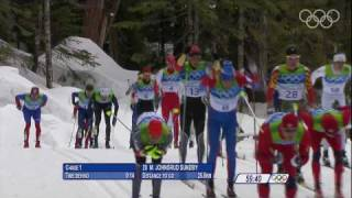 Men's 50km Mass Start (Classic) Cross-Country Skiing - Full Event - Vancouver 2010 Winter Olympics