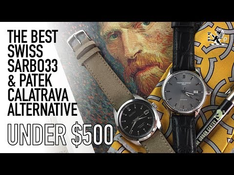 The Best $500 Patek Calatrava & Seiko SARB033 Alternative  - Frederique Constant Index Watch Review