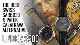 The Best $500 Patek Calatrava & Seiko SARB033 Alternative  - Frederique Constant Index Watch Review