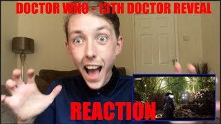 Doctor Who - 13th Doctor Reveal | REACTION (SPOILER WARNING!!!)