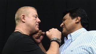 WNC 9.19 Press conference Dave Finlay&Ray Mendoza Jr.