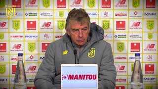 VIDEO: Christian Gourcuff avant Bordeaux - FC Nantes