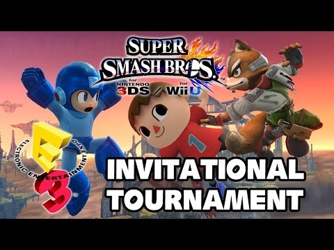 Super Smash Bros Wii U - E3 2014 Invitational Tournament All Matches TRUE-HD QUALITY