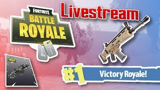 GETTING SOME WINS LIVE!?! - Fortnite Battle Royale - 6