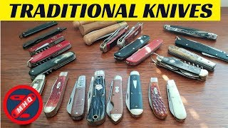 Traditional Knives and Slipjoint Collection Ramble, Knife Collection Update 2018