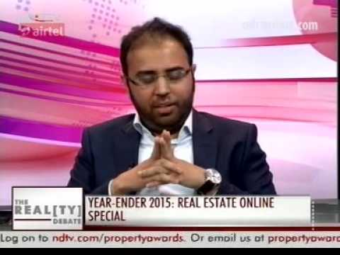 NDTV Prime's - The Realty Debate.