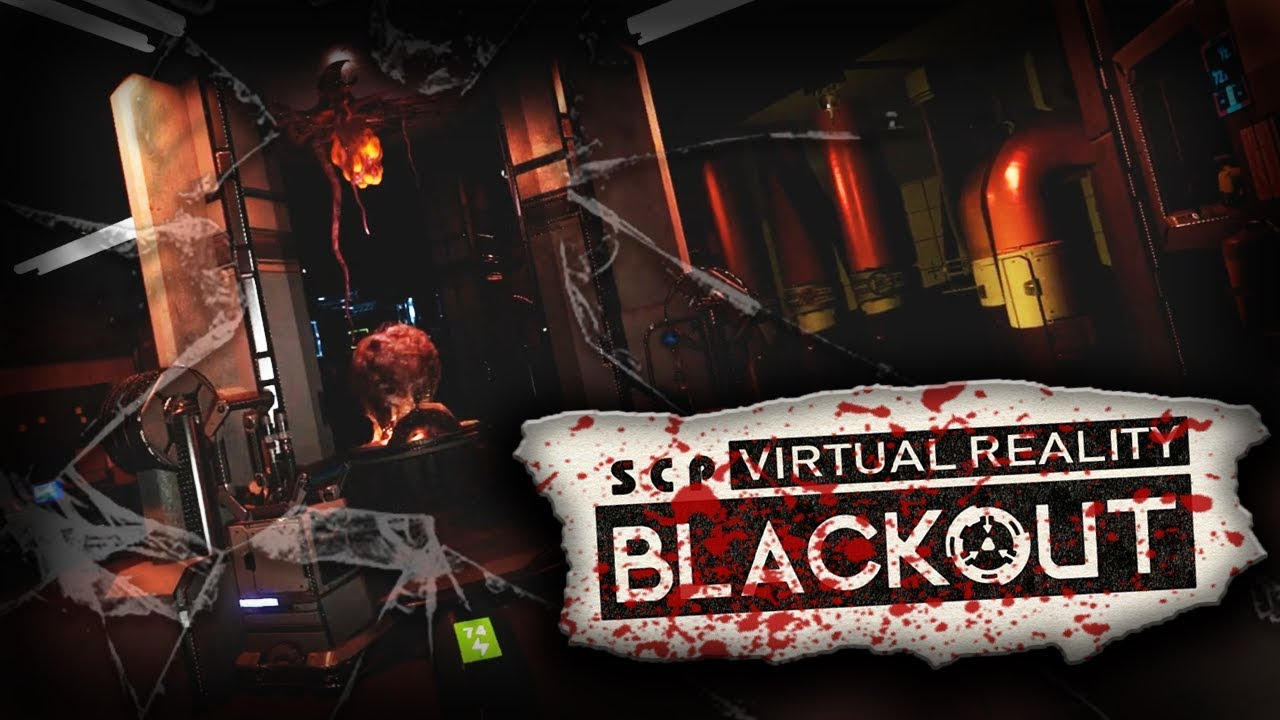 SCP in Virtual Reality - SCP: Blackout Demo