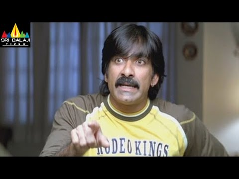 Krishna Movie Comedy s Back to Back  Ravi Teja, Trisha, Brahmanandam  Sri Balaji Video