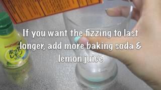 Lemon Fizz Experiment