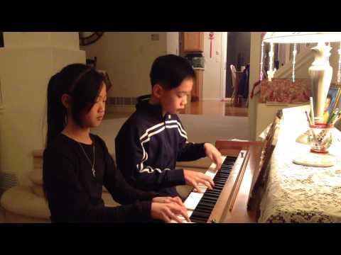 Pachelbels Canon in D Major Piano Duet