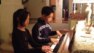 Pachelbel's Canon in D Major Piano Duet