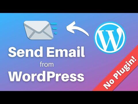 Функция php mail wordpress