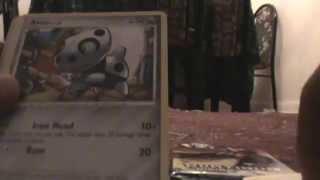 Opening 2 Pokemon Platinum Rising Rivals Booster Packs (Reprint Pull!!)