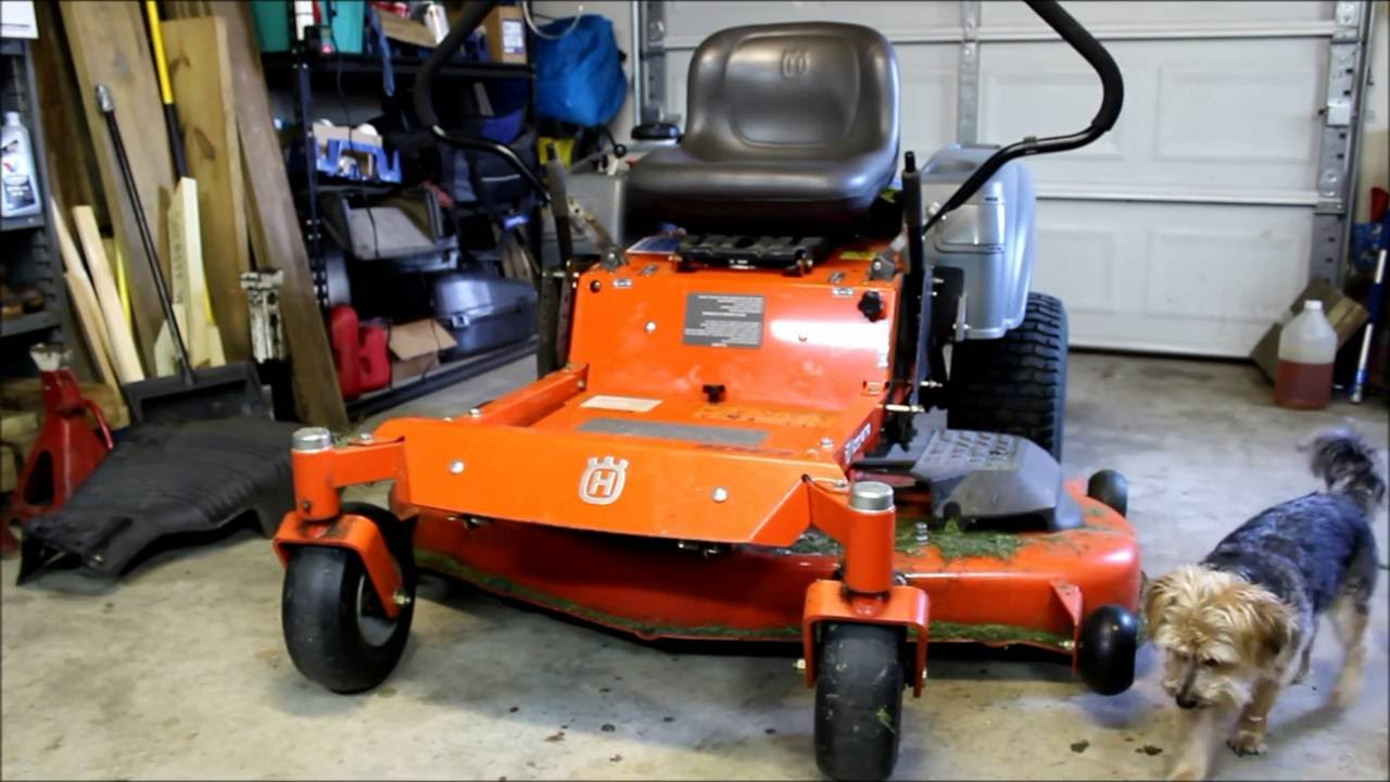 Review of the Husqvarna RZ5424 Zero Turn Mower