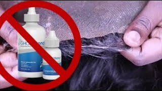 HOW TO: Remove glue from lace frontal GHOST BOND XL   Amber TheGemini