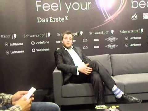 ESCKAZ live in Dusseldorf: Rafael Gualazzi (Italy) interview in Russian/English