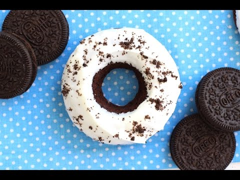 Receta de donuts casero de oreo | Donas de oreo