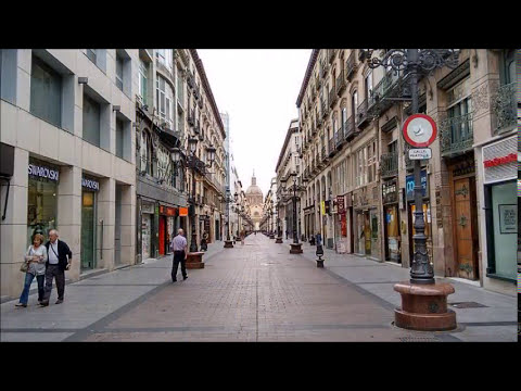 Places to see in ( Zaragoza - Spain ) Calle Alfonso I
