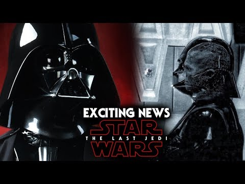 Darth Vader Exciting News Revealed  Star Wars The Last Jedi Spoilers
