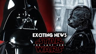 Darth Vader Exciting News Revealed - Star Wars The Last Jedi Spoilers