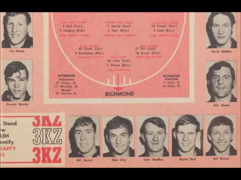 1969 VFL Grand Final - Carlton vs Richmond - 3KZ Radio
