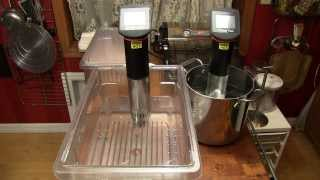 cooking with a suvee machine
