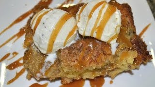 How To Make Caramel Bread Pudding!