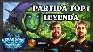 PARTIDA EN TOP 1 LEYENDA con Dalesom | Druida Jade
