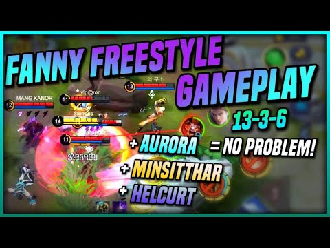 Do you miss me? FREESTYLE GAMEPLAY! FANNY SKYLARK | TOP GLOBAL FANNY -Yasue 덴버